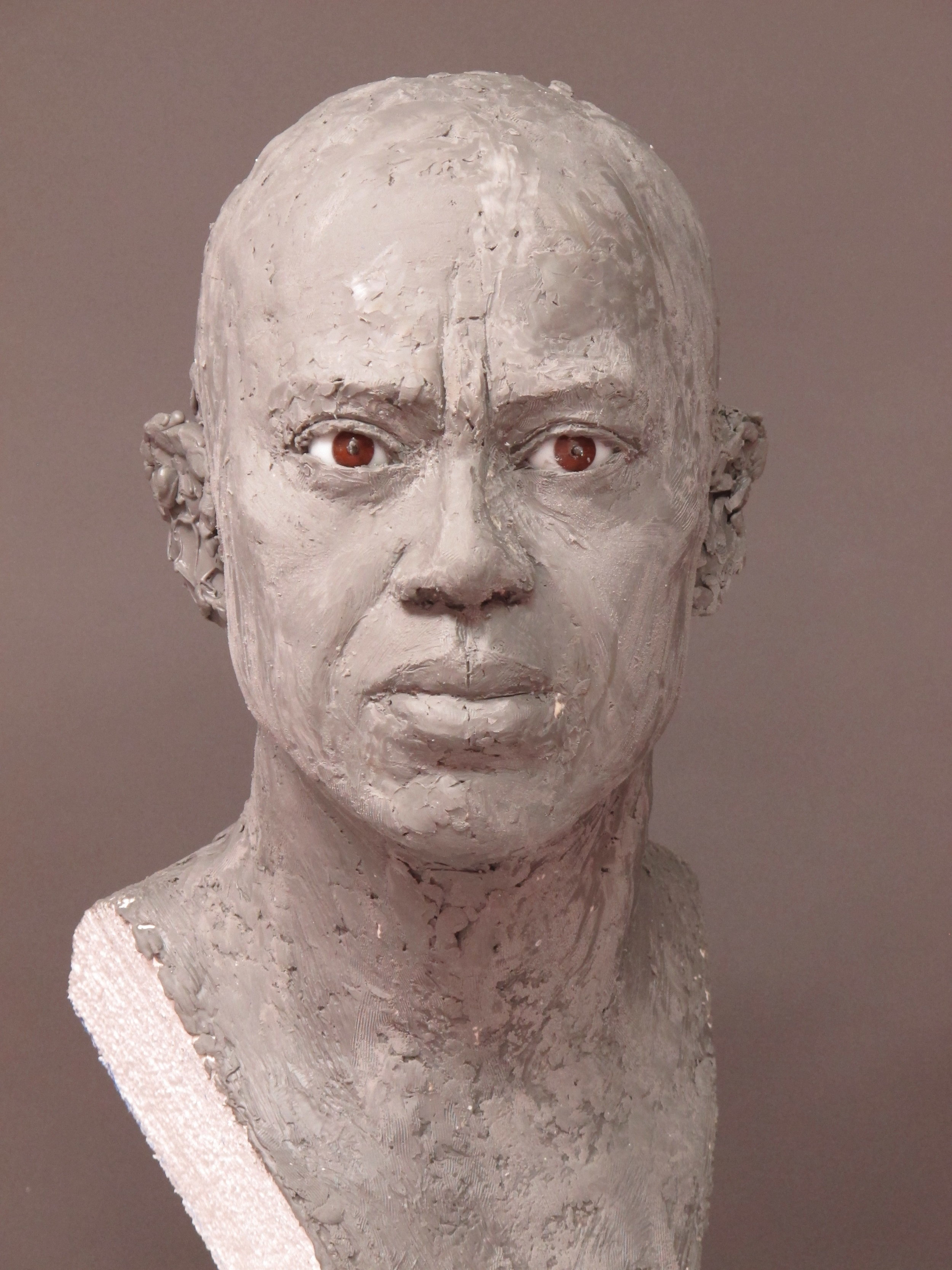 Tiger Woods - Clay sculpture by Eric Saint Chaffray - Credit Musée Grévin