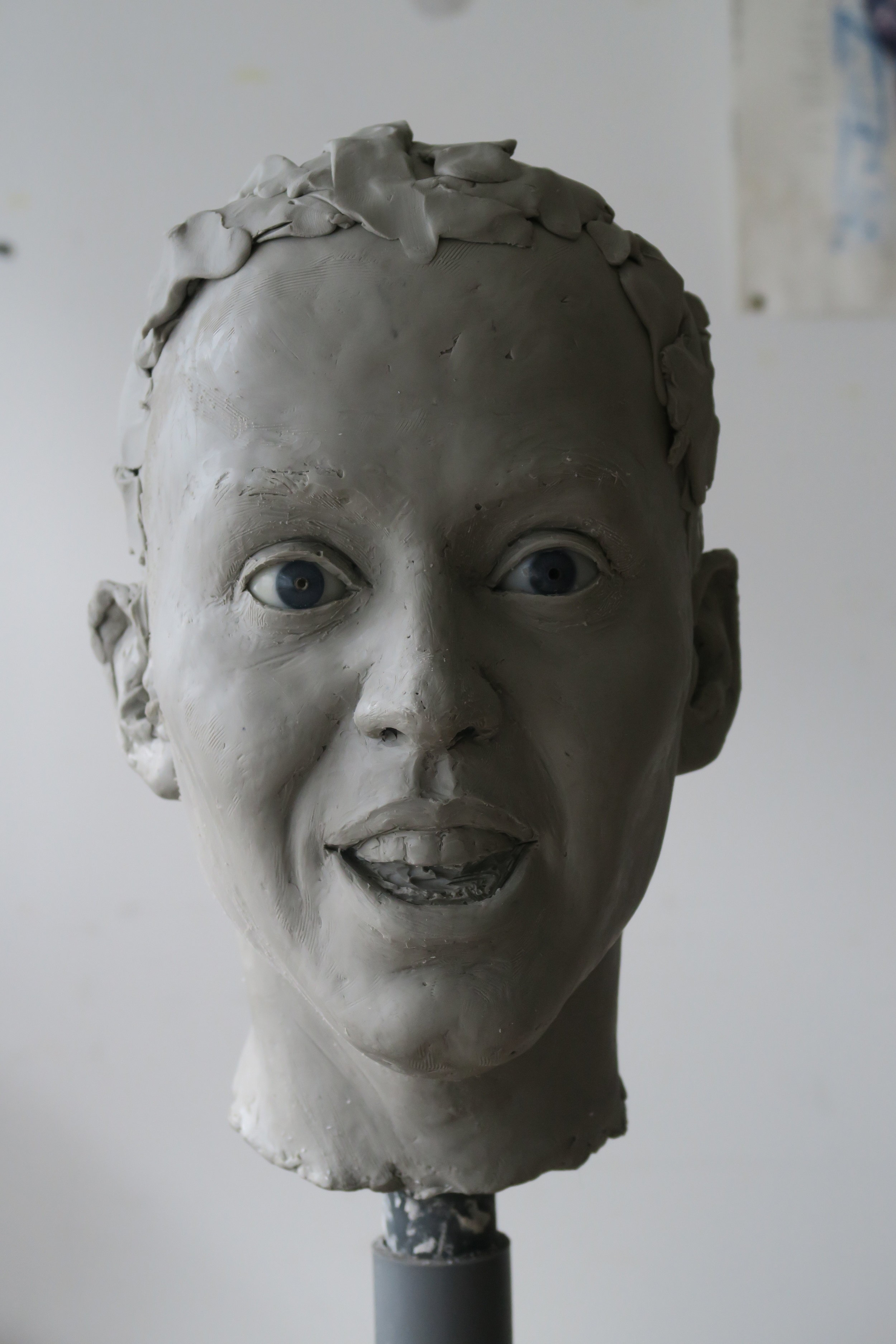 Katy Perry - Clay sculpture by Eric Saint Chaffray - Credit Musée Grévin