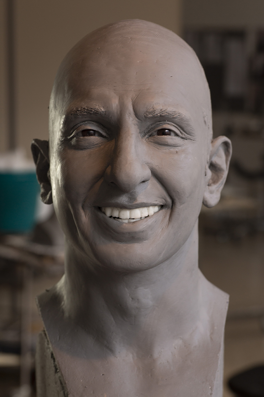Ranveer Singh - Clay sculpture by Eric Saint Chaffray - Credit Musée Grévin