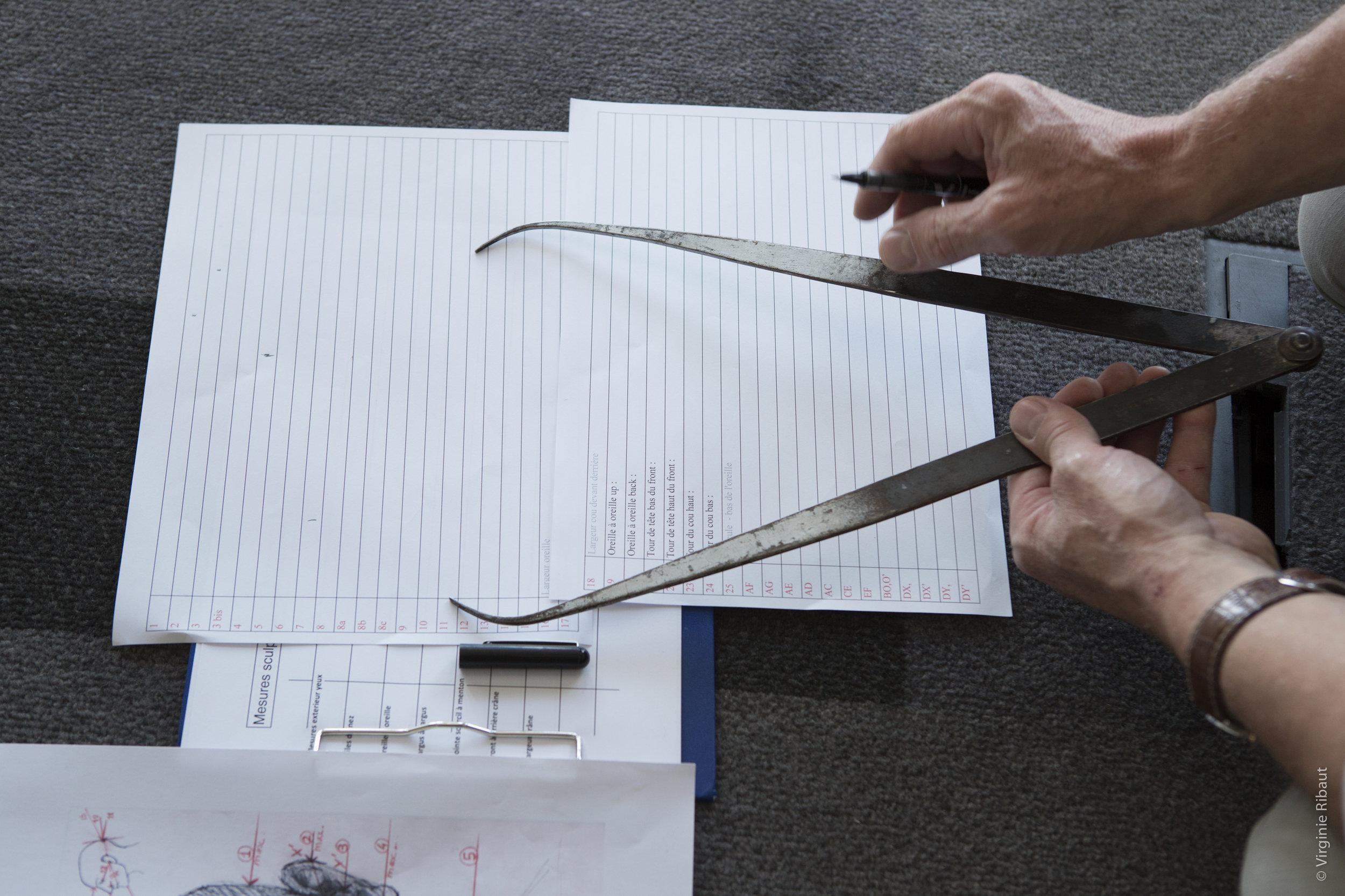 Ranveer Singh - Measurements by Eric Saint Chaffray - Credit Musée Grévin