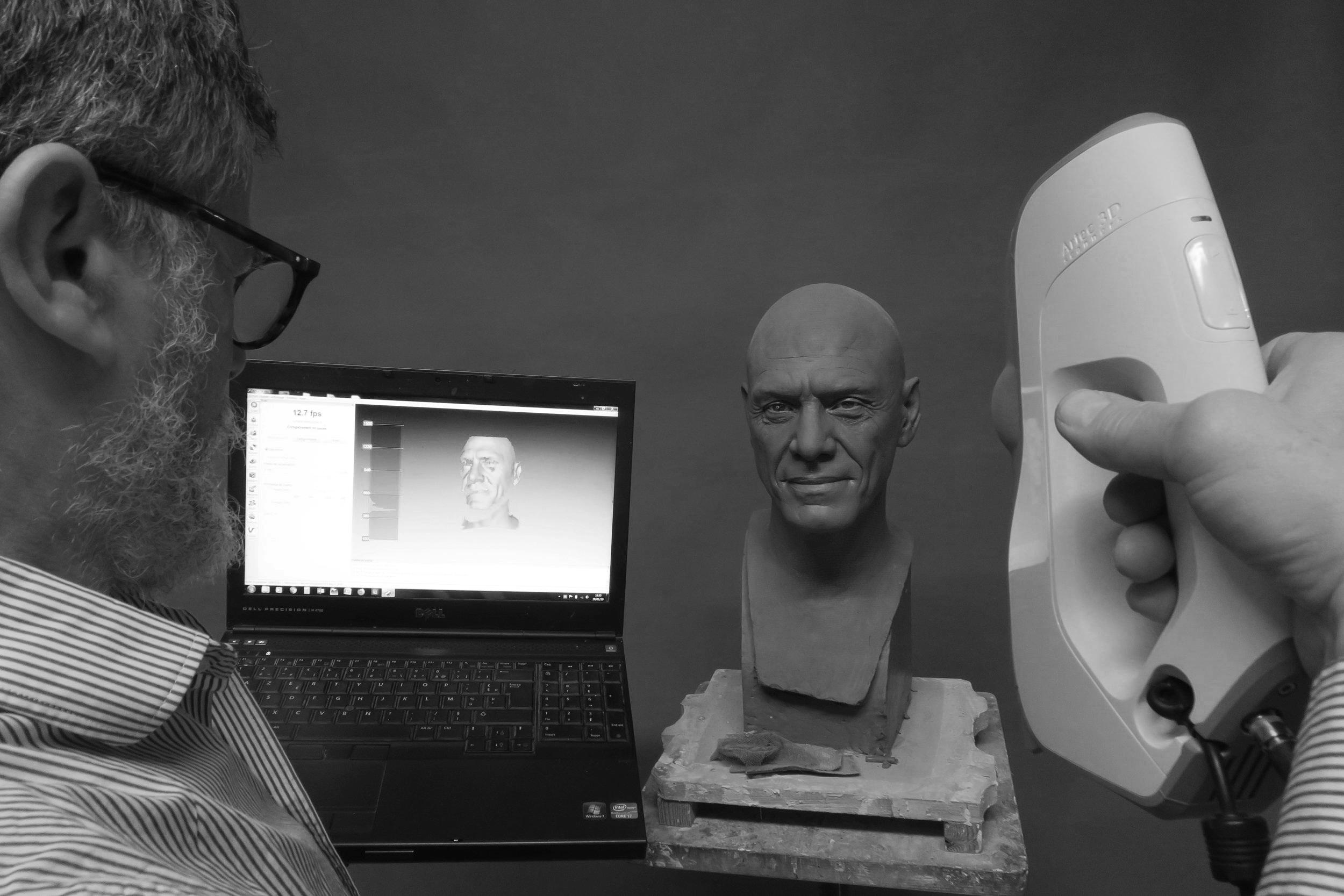 - Scanner 3D