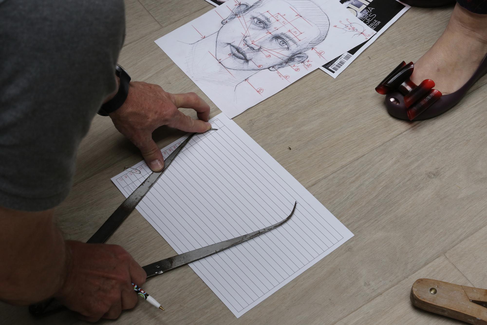 Zlatan Ibrahimovic - Prise de mesures - Credit Musée Grévin