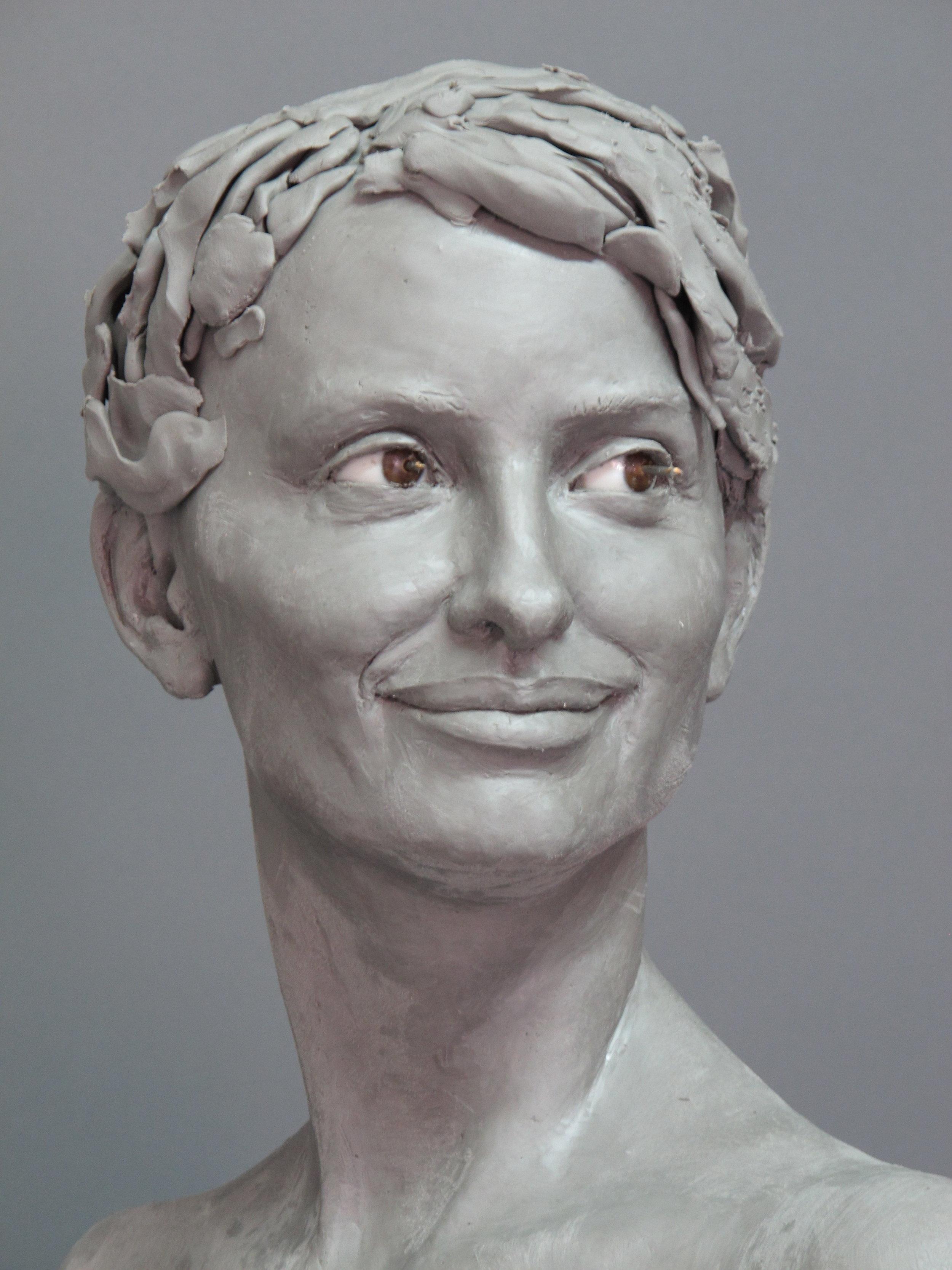 Penelope Cruz - Sculpture en terre par Eric Saint Chaffray - Credit Musée Grevin