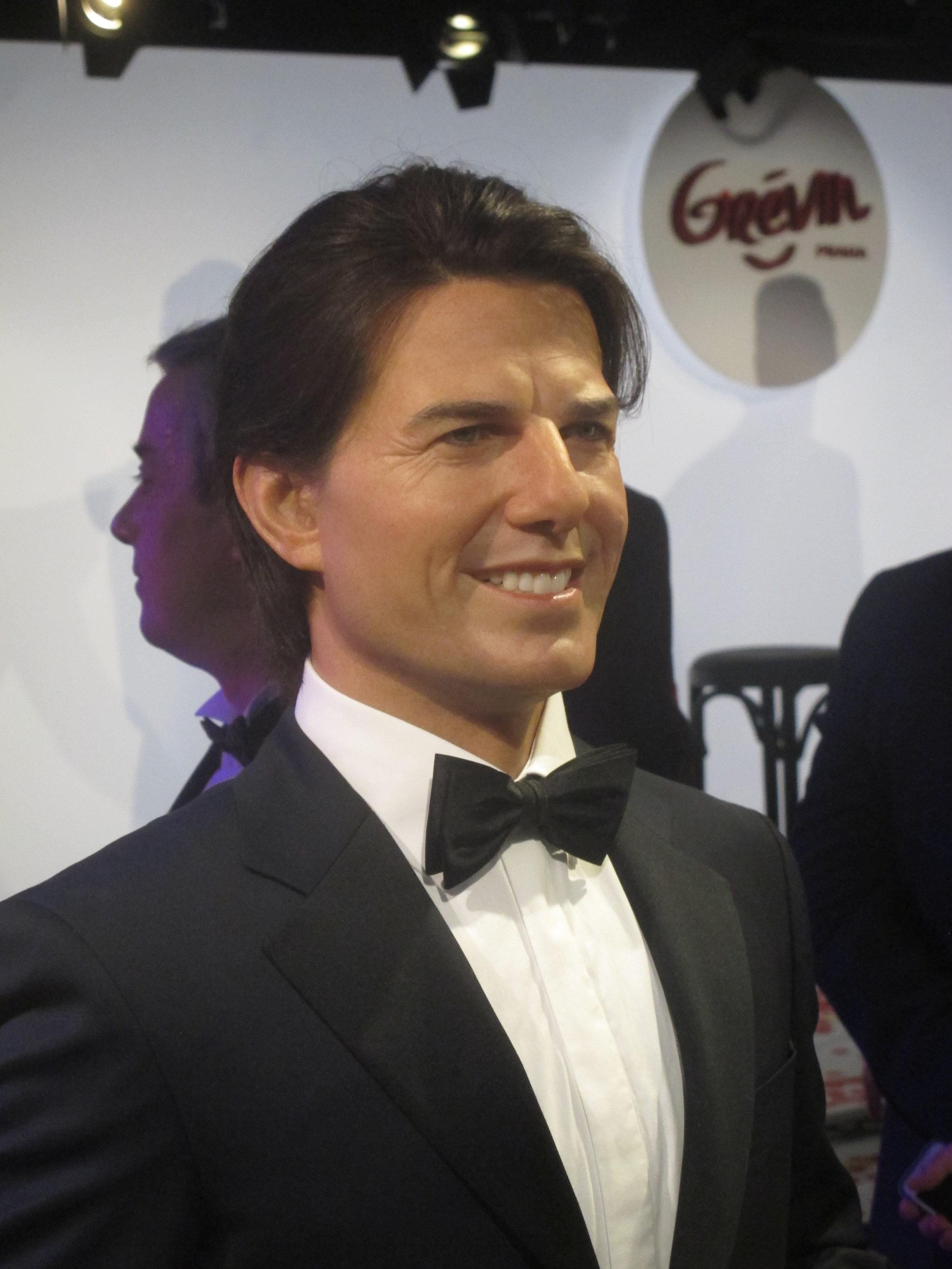 Tom Cruise - Sculpture en cire - Modelage par Eric Saint Chaffray - Credit Musée Grévin