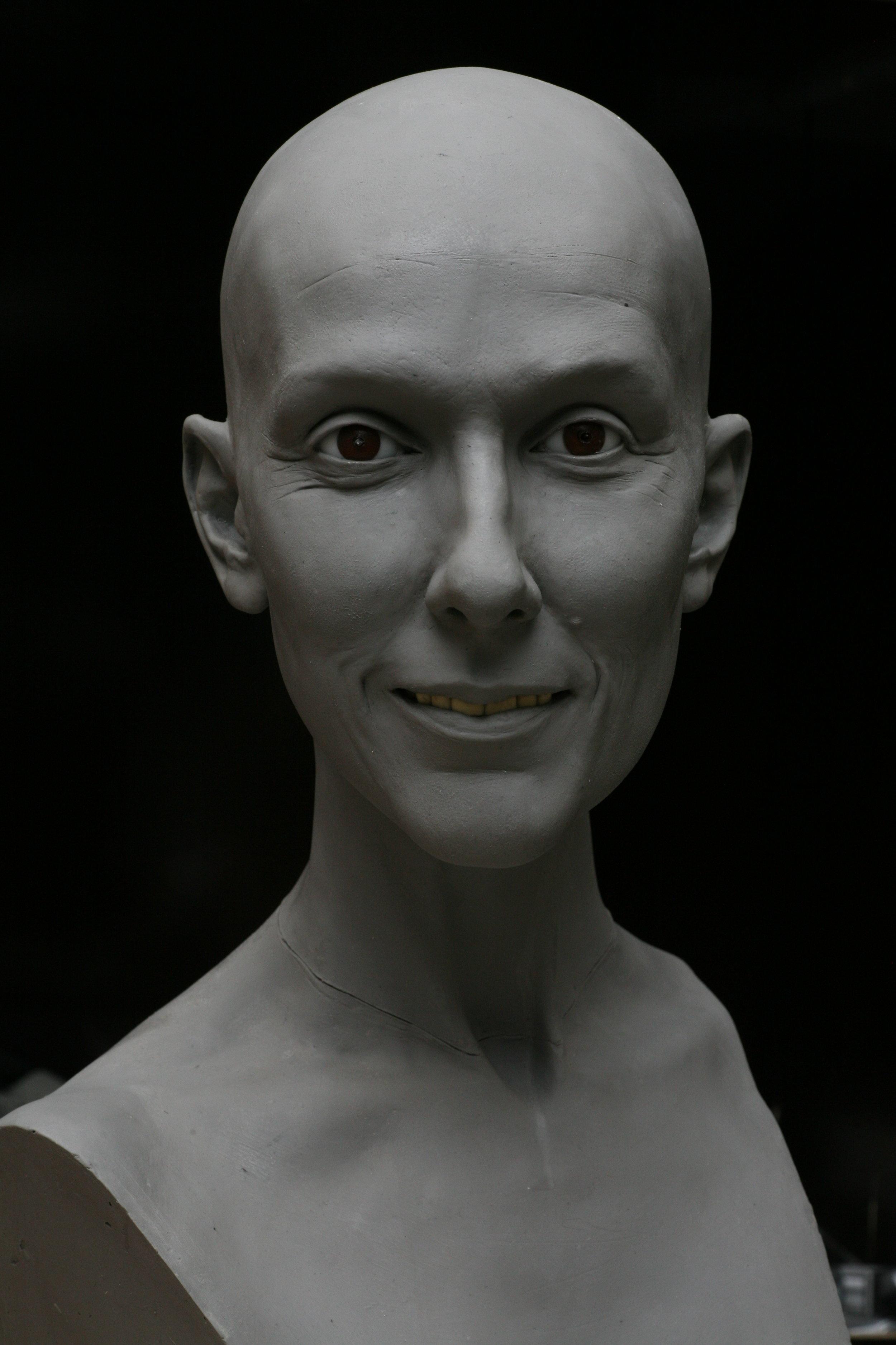 Celine Dion - Sculpture en terre par Eric Saint Chaffray - Credit Musée Grévin