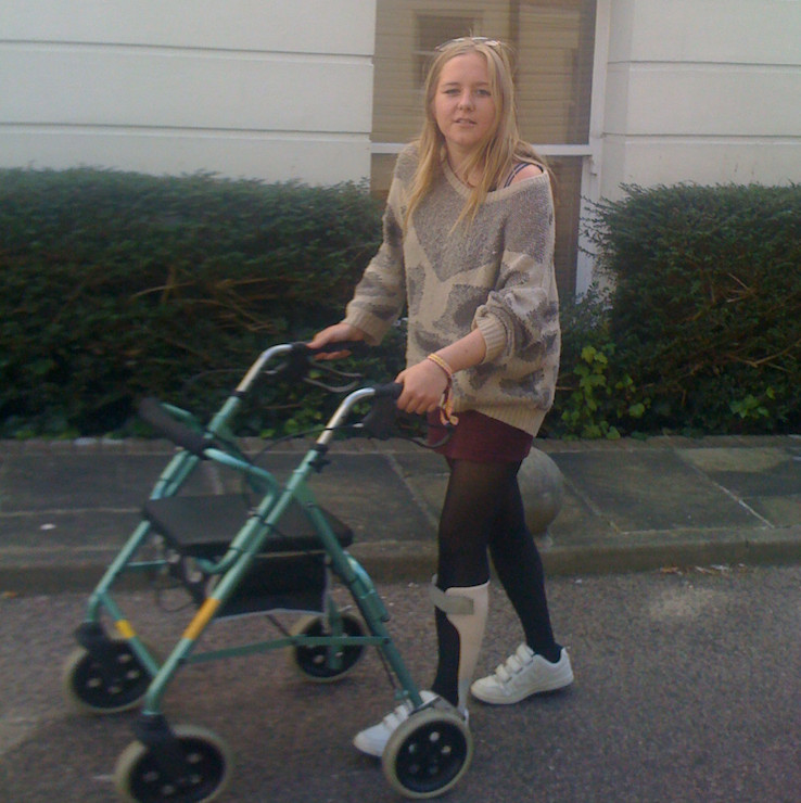 Learning to Walk Again Aged 21