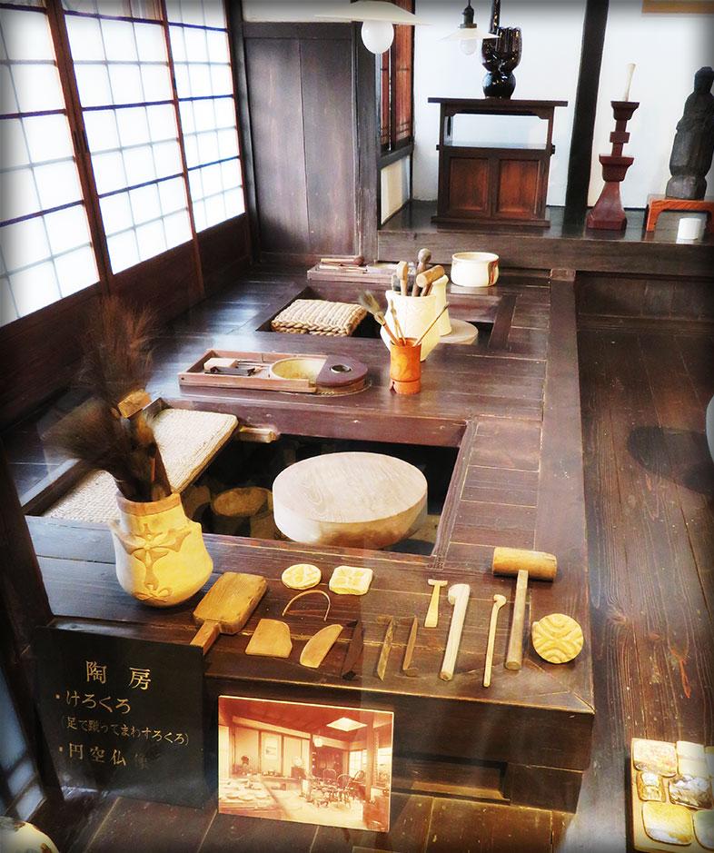 Kawai Kanjiro's pottery studio