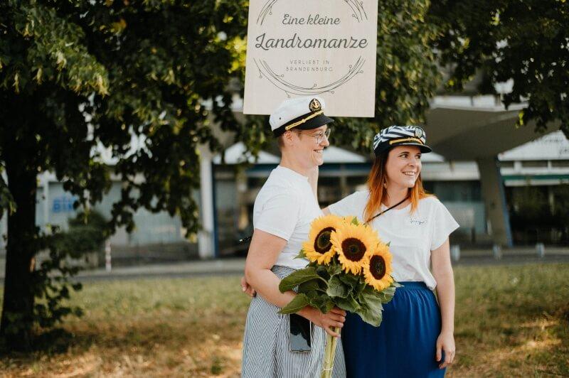 Silvi und Jenny von muckout - sie haben das Event organisiert und durchgeführt / © paulaundnoah