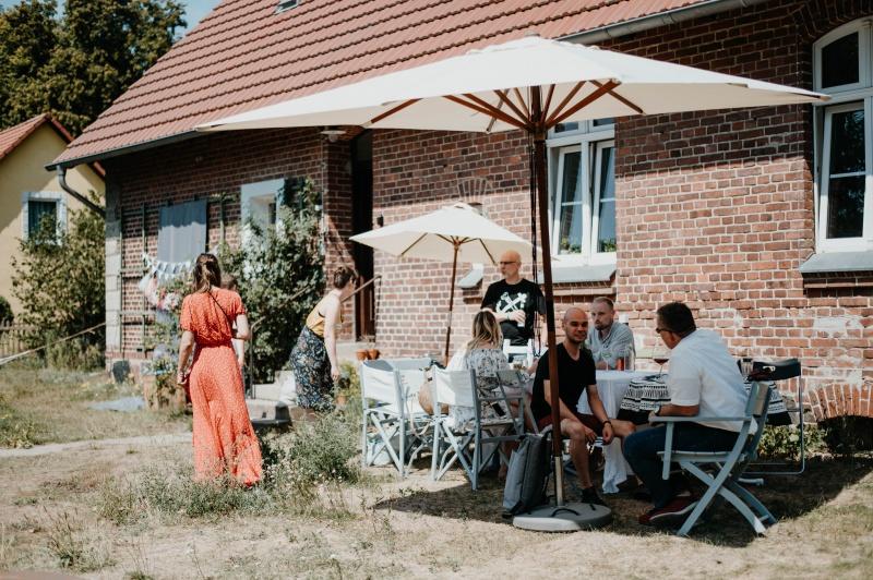 Die Alte Schule Brandenburg ist Corinnas Projekt / © paulaundnoah