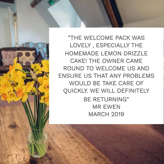 It's #testimonialtuesday 🙌🏻🌱☀️ How quickly did that bank holiday go! Did you have a nice 🐣 Easter?  Here's a recent testimonial from Mr Ewen who stayed last month 🛏🏡 Available dates for this year are booking up fast!  Our new website will be live by the end of the week 🌟 How exciting!  To avoid disappointment, if you are thinking about booking a holiday with us, pop us an email 📧 to enquiries@greyhoundbarn.co.uk to check availability and prices in the meantime 😁  Have a great day!  #cotswolds #costwoldholidayhome #weddingaccomodation #barnsleygloucestershire #bibury #cotswoldvillages #costwoldgetaways #cotswoldholidays #cirencester #cheltenham #ukholidays #countryside #crippsbarn #ukgetaway #ukholiday #jennersbarn #greyhoundbarn #gloucestershire