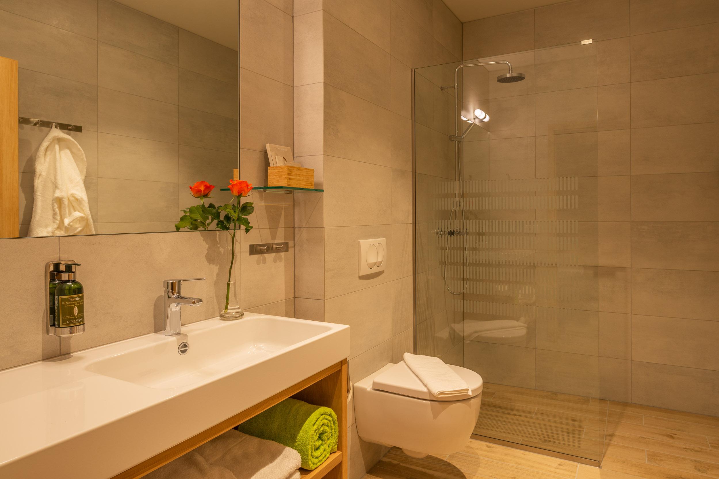 Northern Light Inn deluxe bathroom