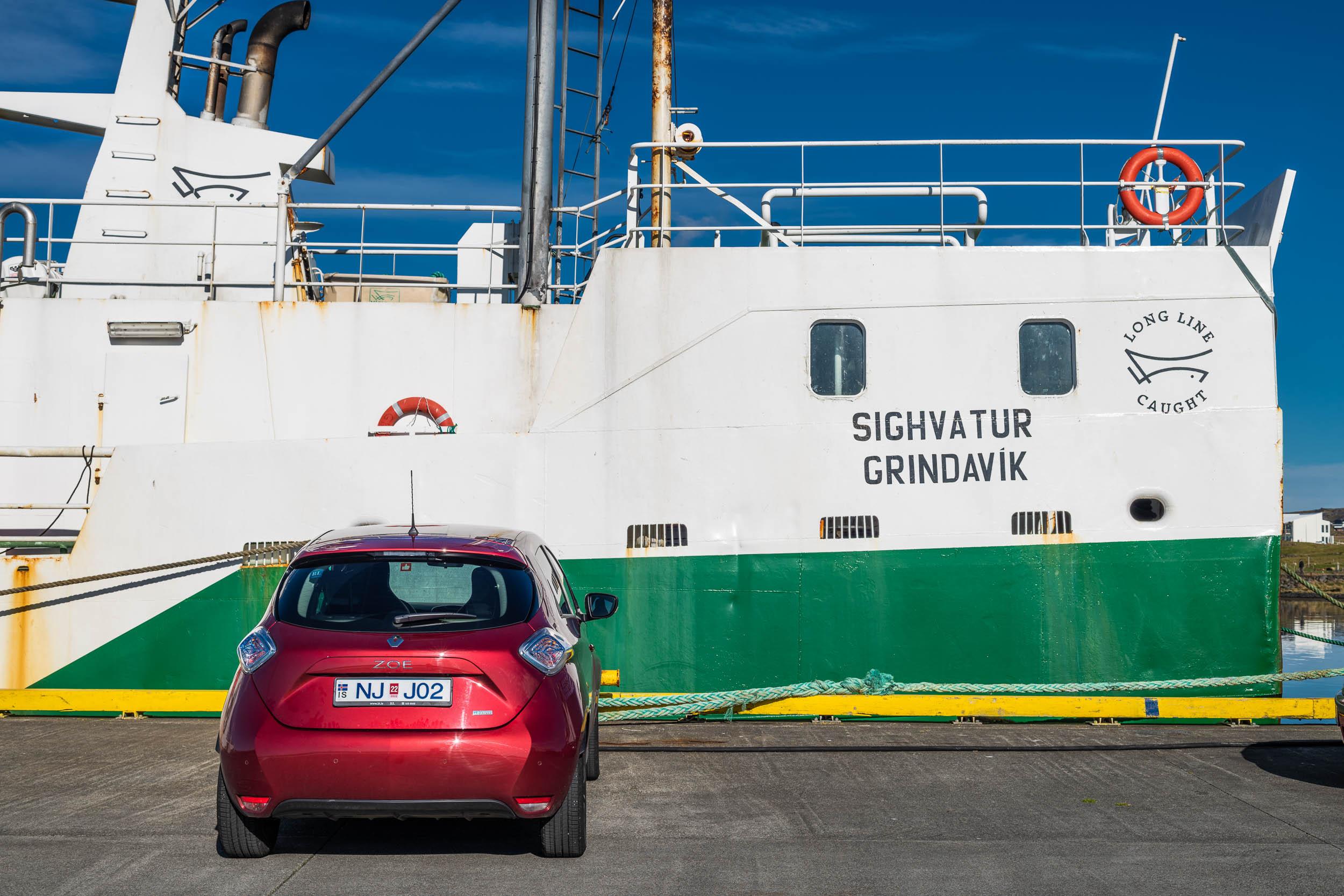 E-Car in Grindvik