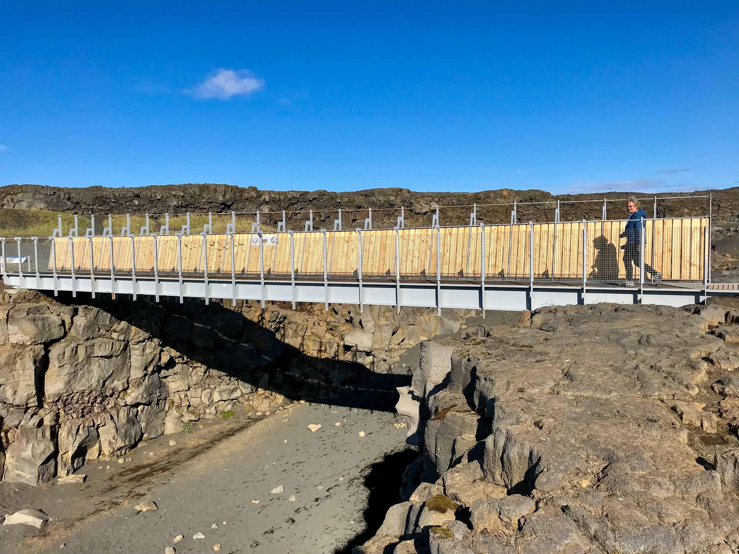 Bridge Between 2 Continents