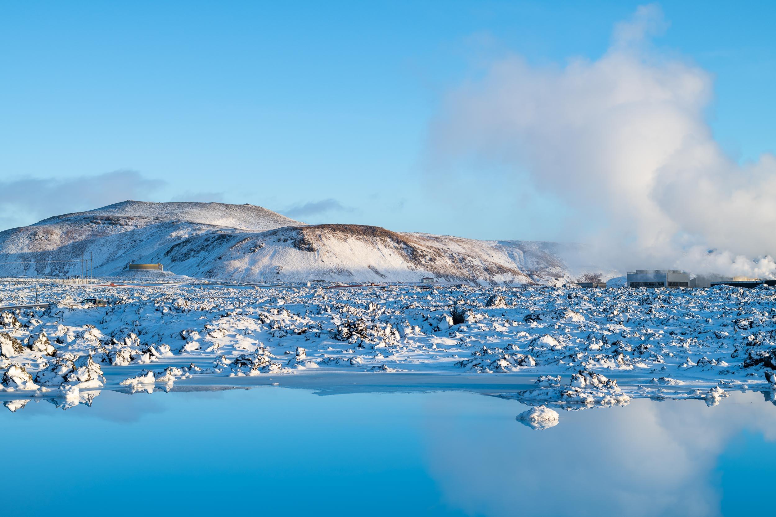 Winter light @ the Blue Lagoon
