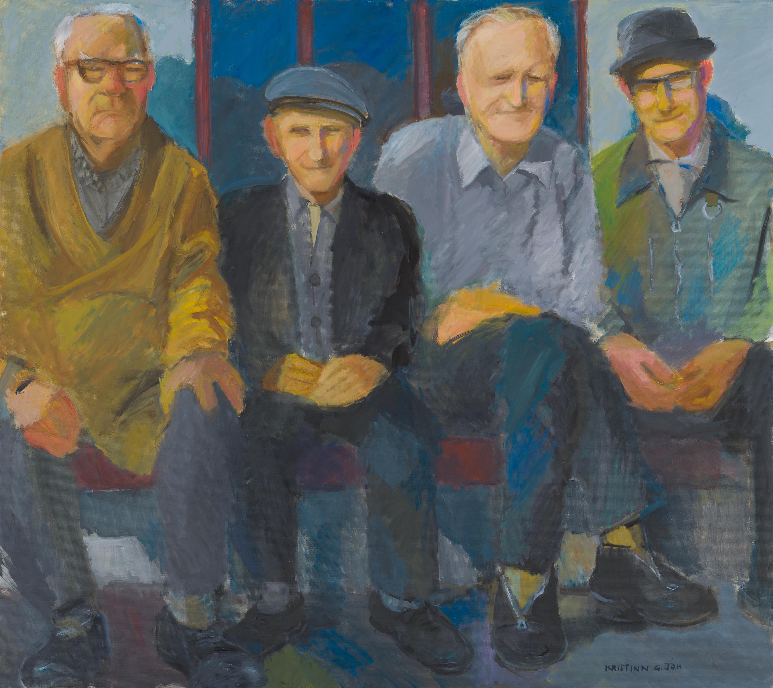 Four Gentlemen of Olafsfjordur