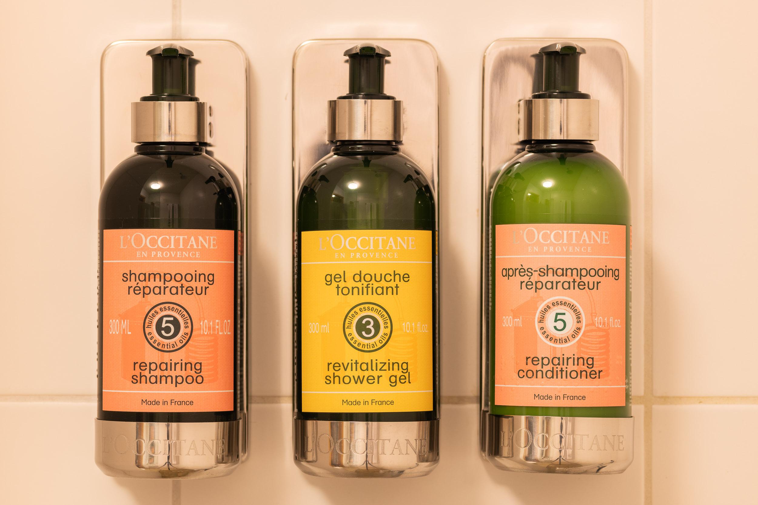 L'Occitane shower soaps