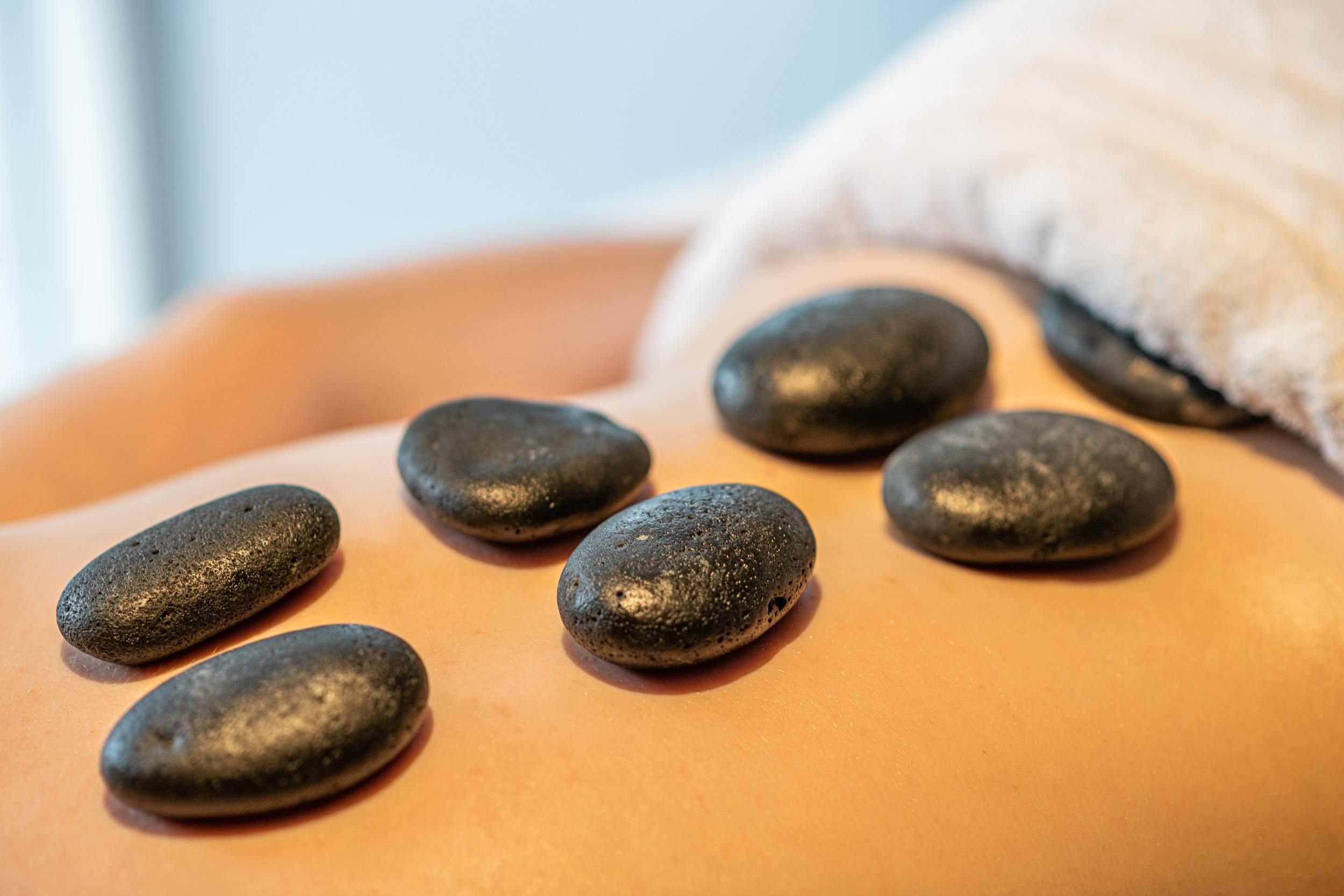 Hot Stone Massage @ NLI Wellness Spa