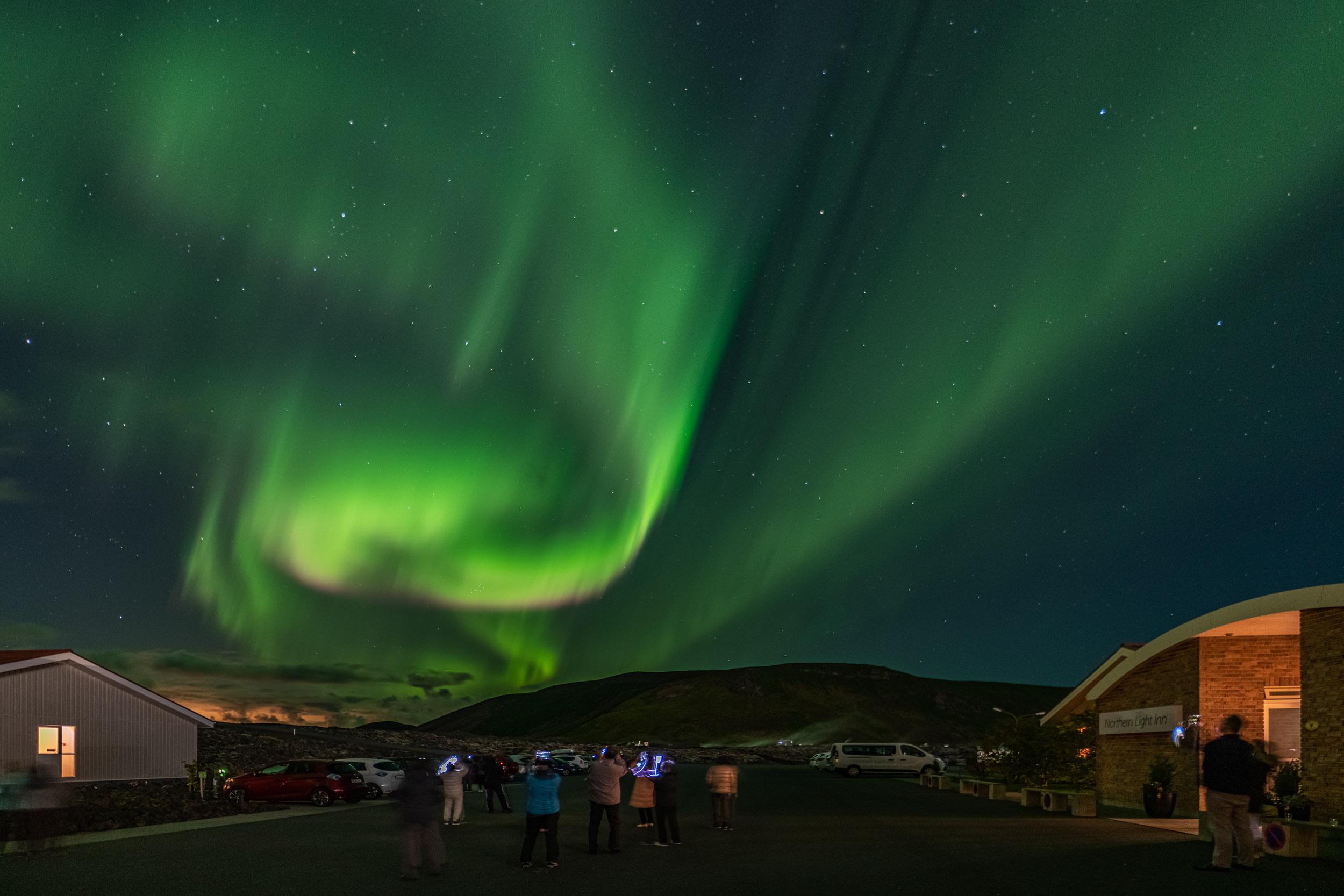 nli aurora borealis