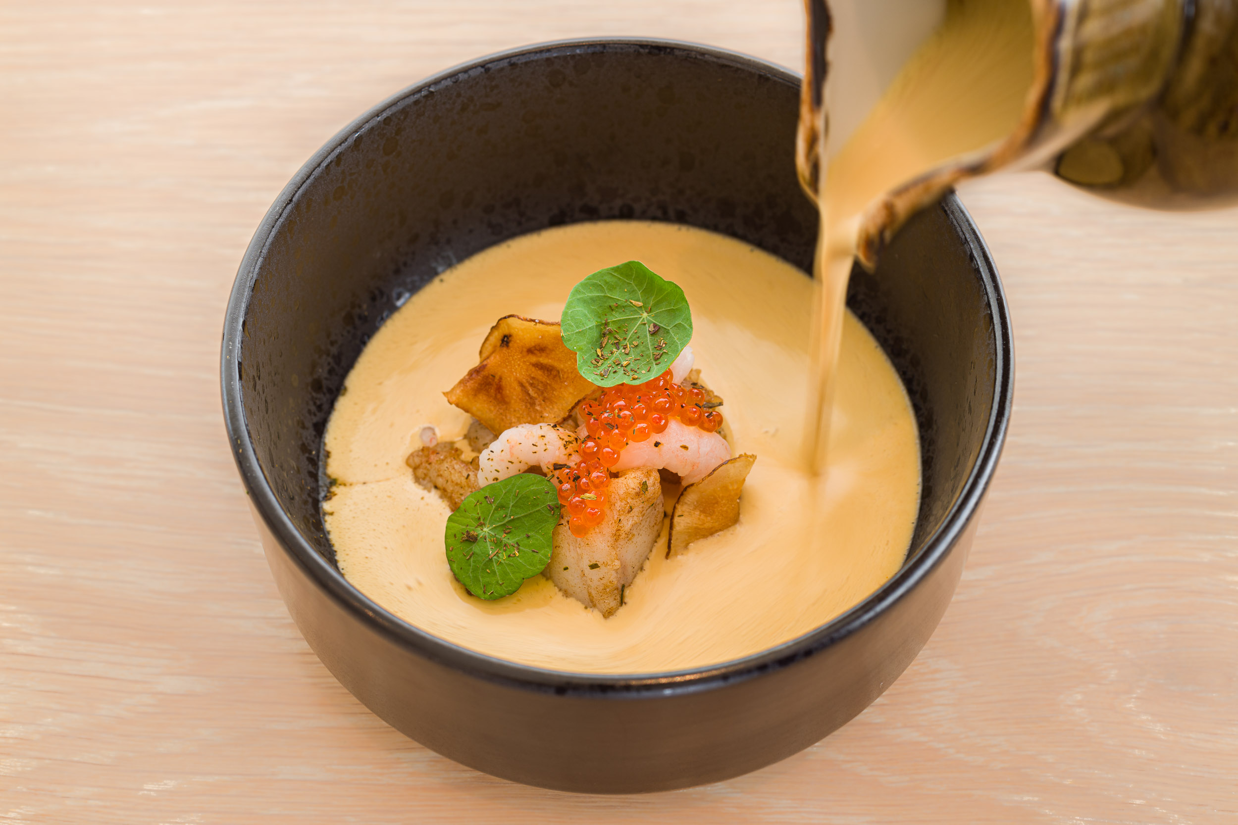 Seafood Soup • Sjávarréttasúpa