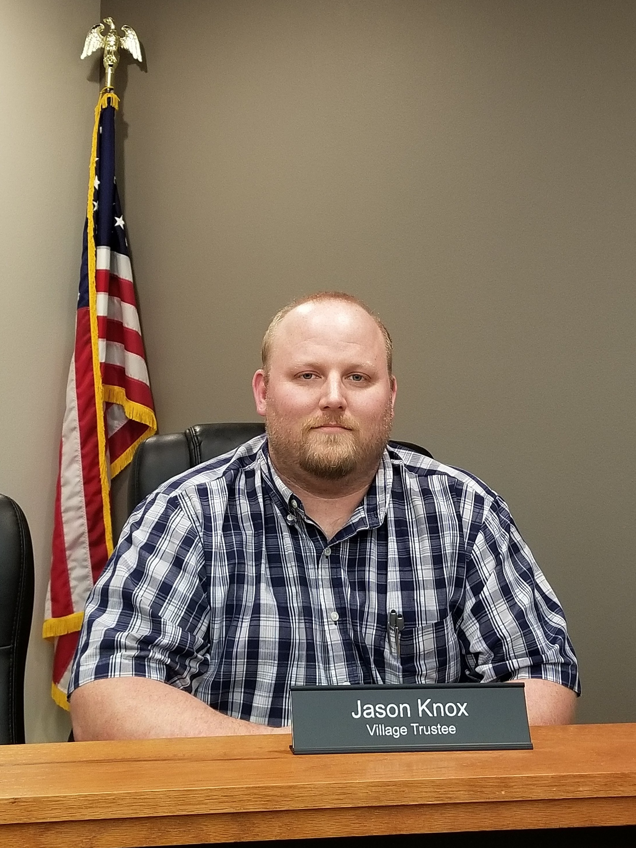 Village Trustee - Jason Knox