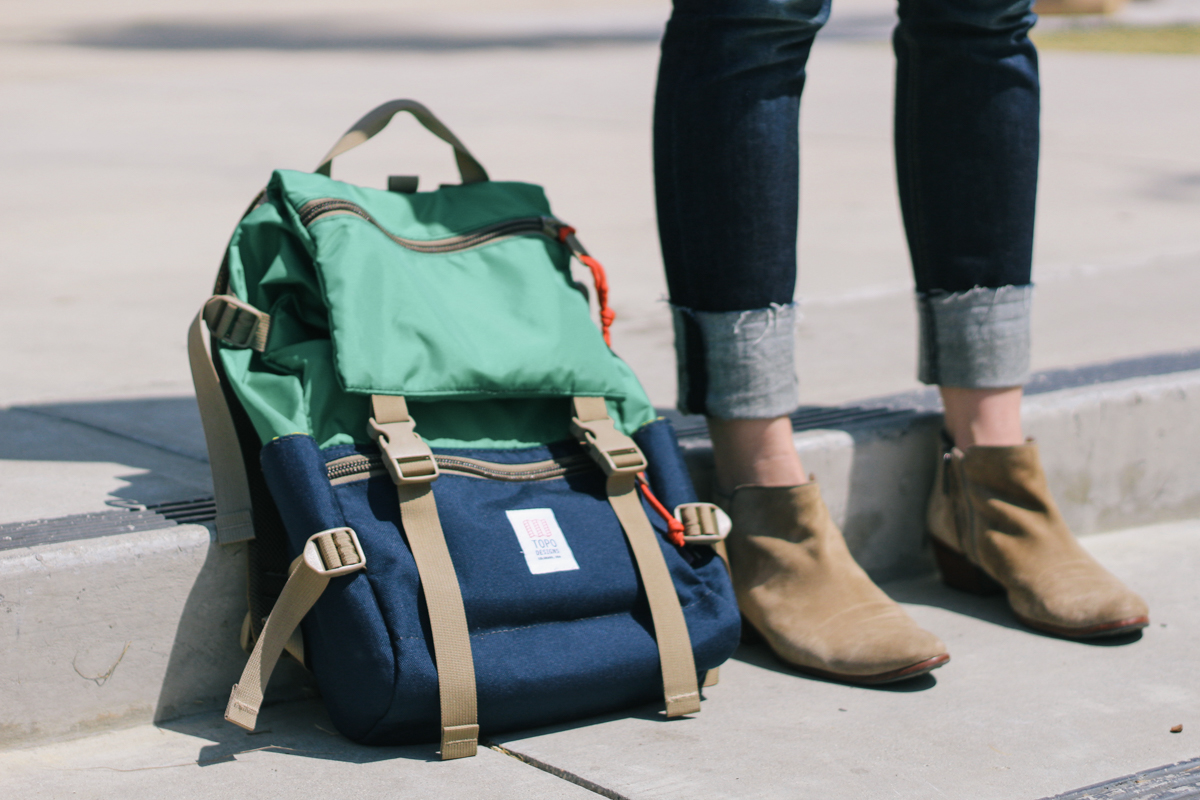 Topo Designs, adult backpack, stylish backpack