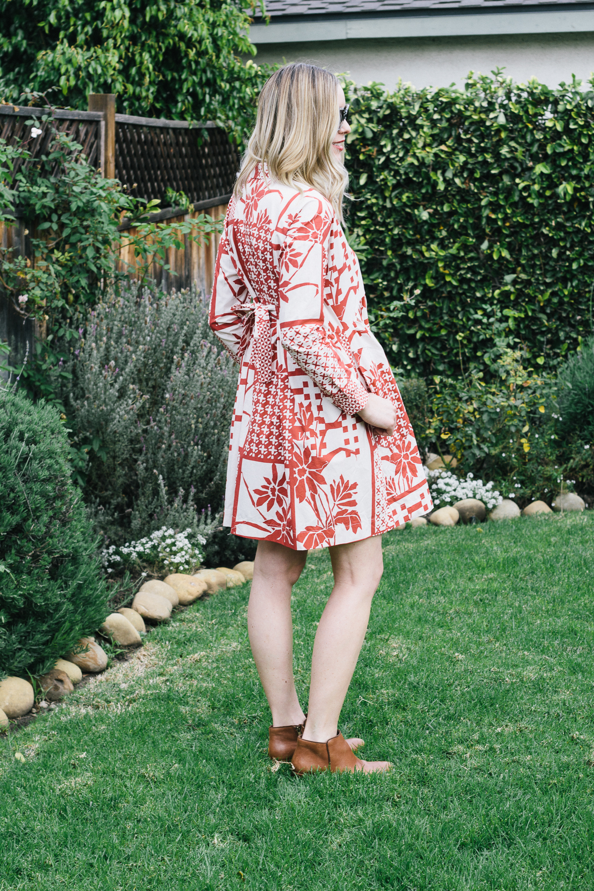 Valentine's dress, red dress, pattern dress