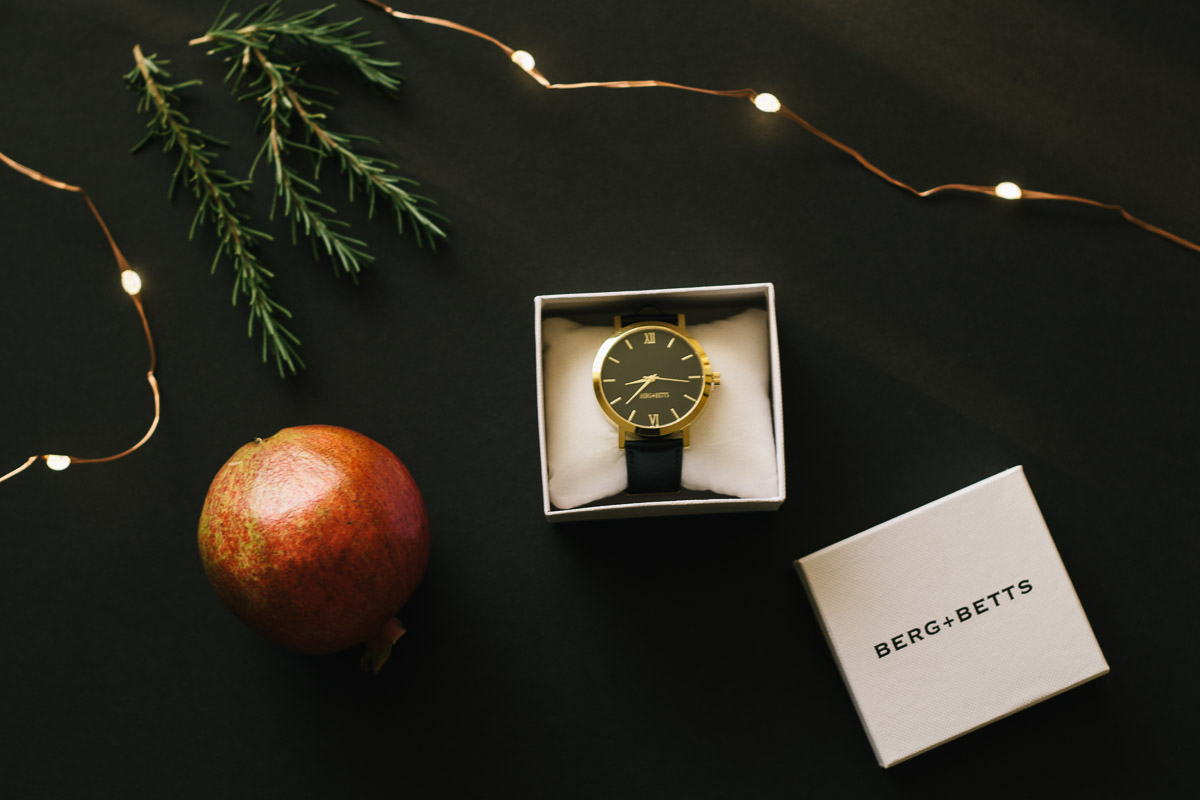 holiday gifts sustainable watch