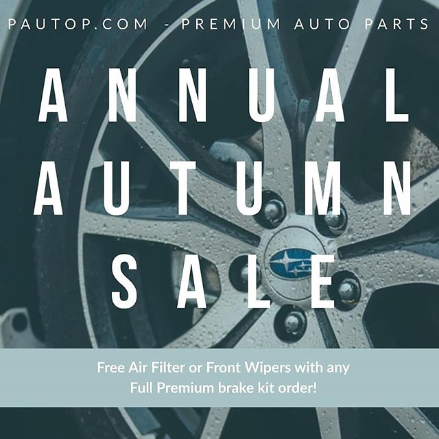 It's looking a bit grey out, some new wipers might help... Hope the rest of your weekend looks sunny! 🌞 #pautop #autumn #sale #markham #autoparts