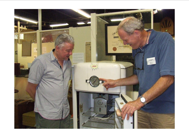 John shows Crosely Refrid.jpg