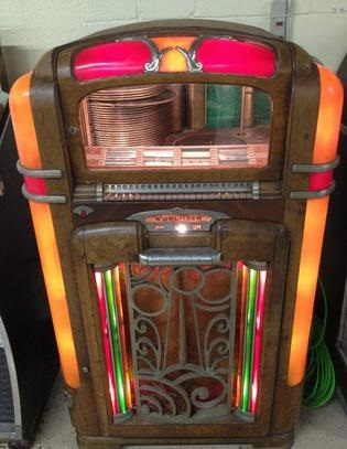 1940's Wurlitzer - Dance to the music !