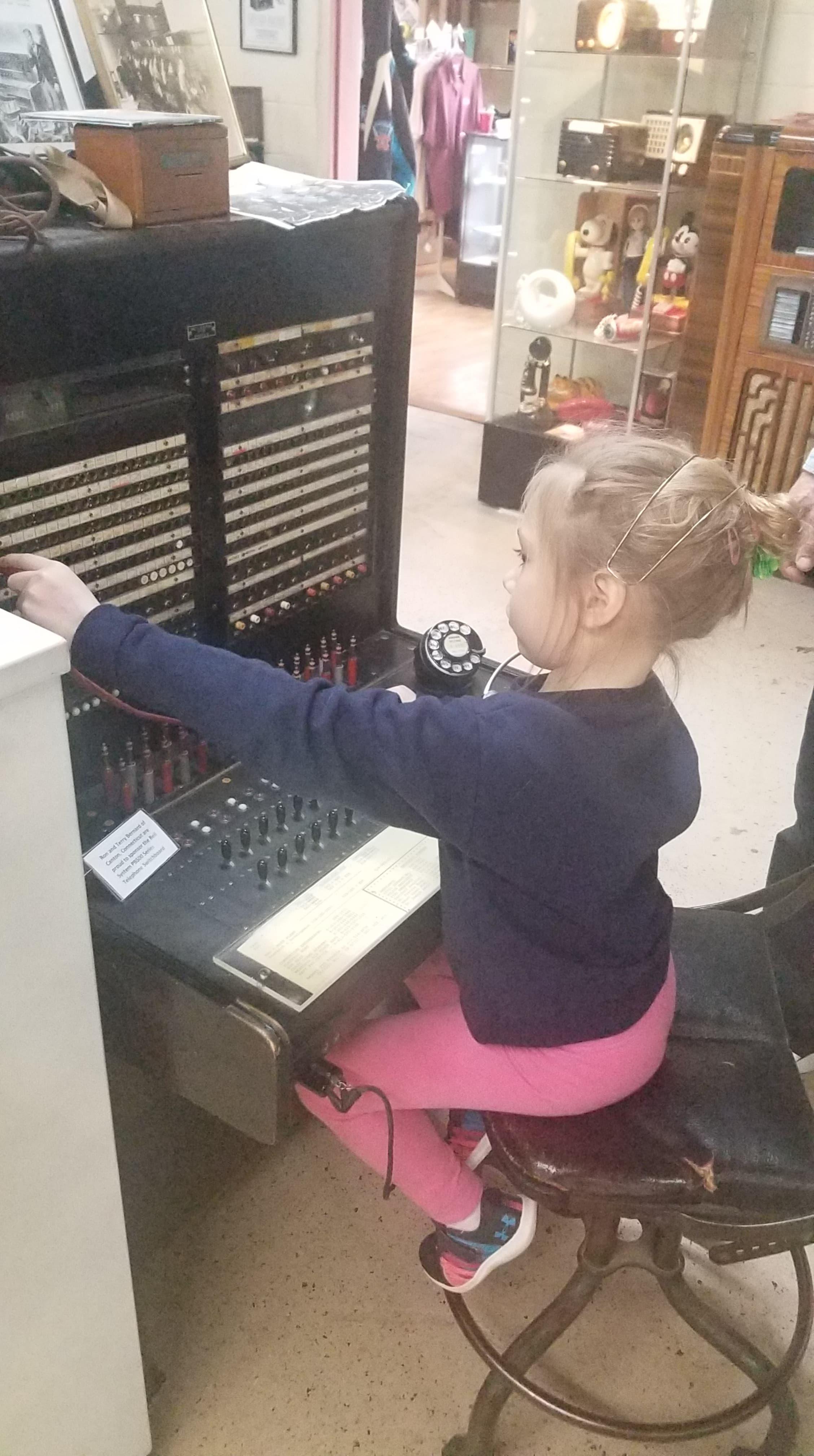 Telephone Switchboar Operator (.jpg