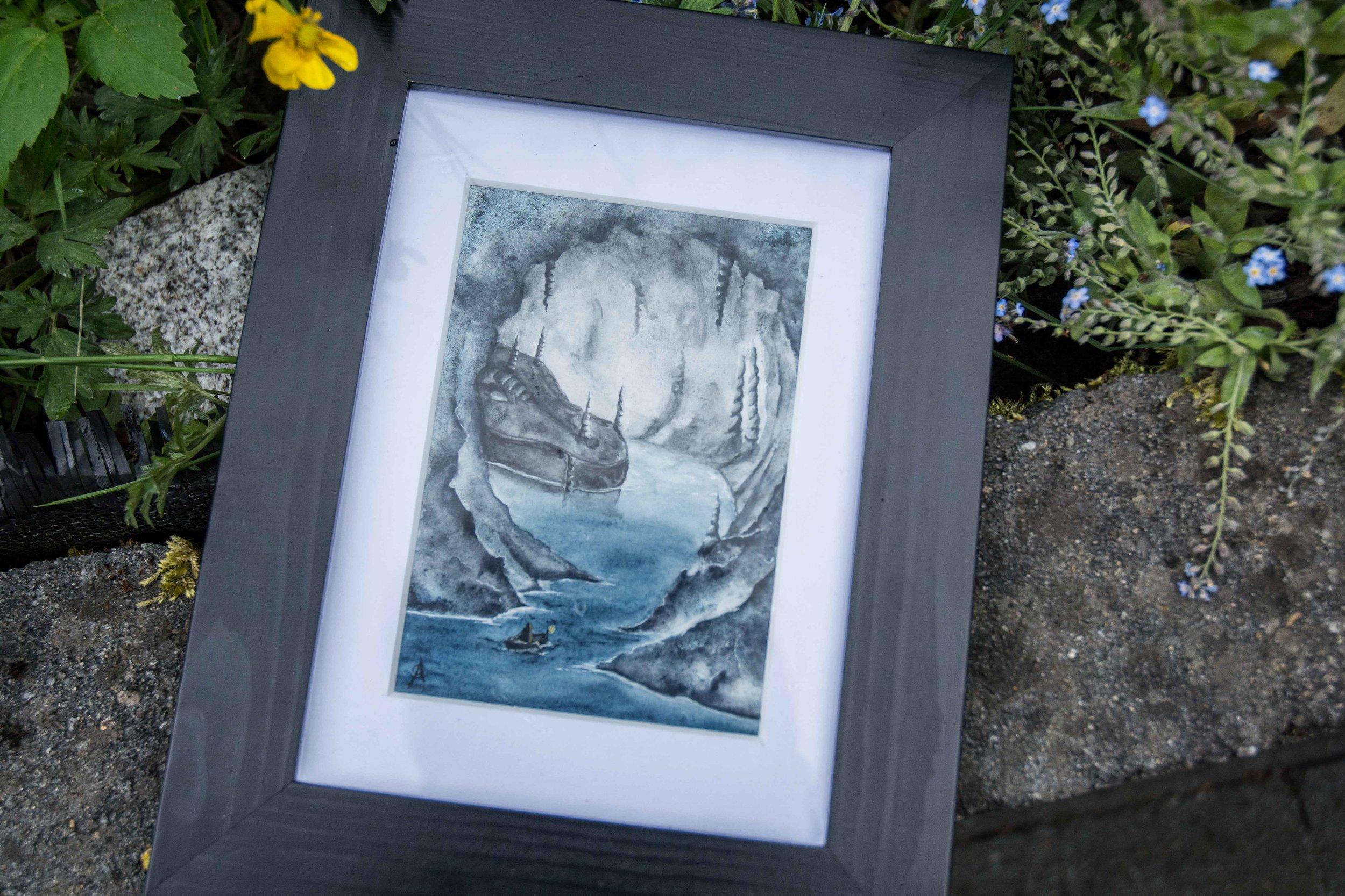 Dragons Enveloped by Nature — EylianaStudio - Fantasy art Enveloped