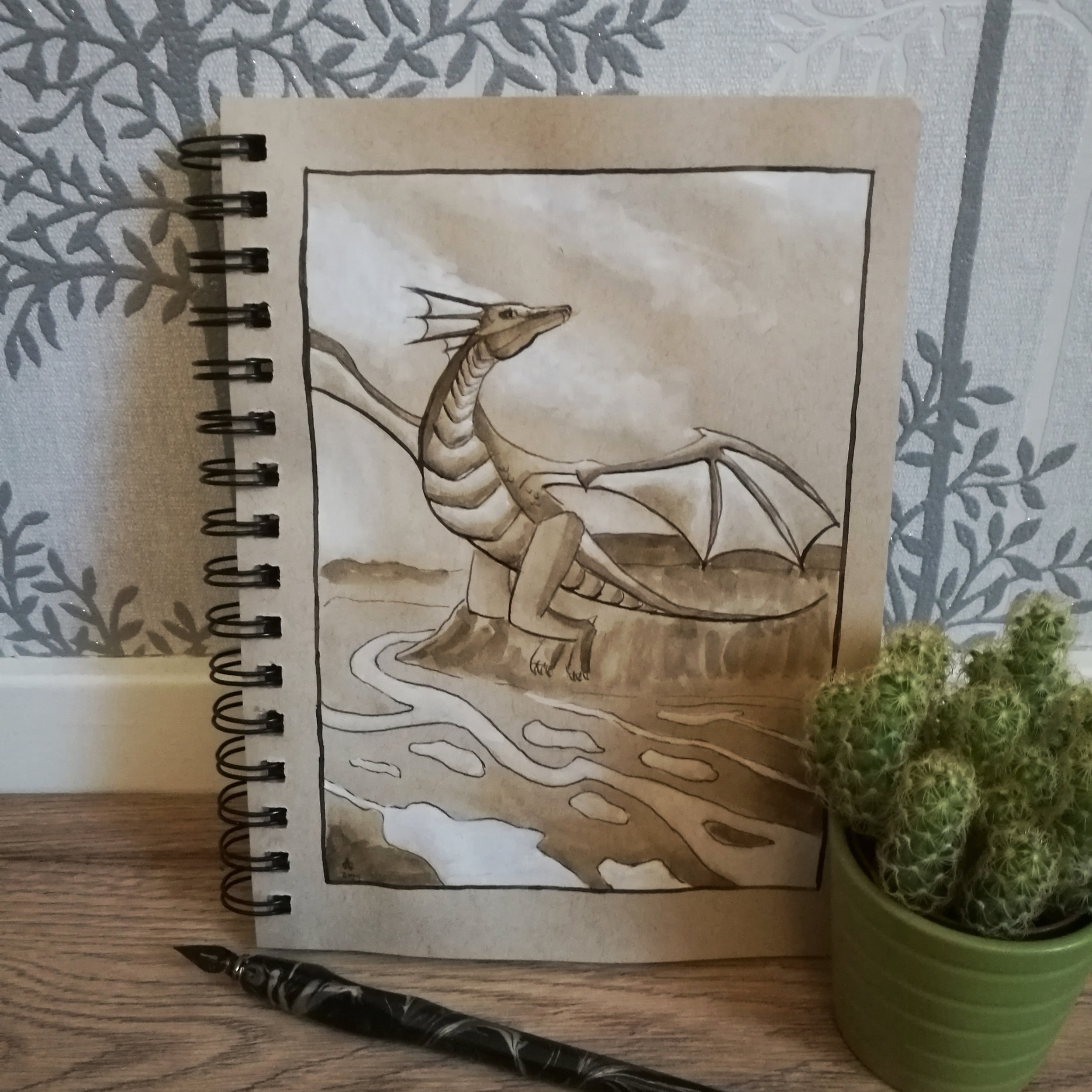 Smaugust 5 - Flying Dragon