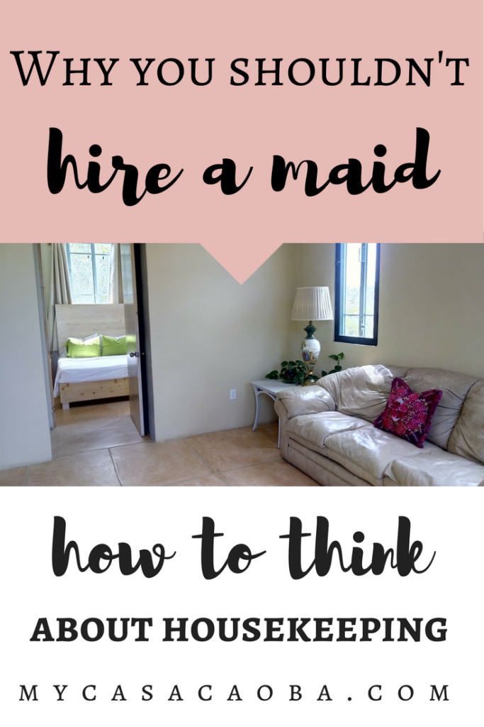 Is it worth it to hire a maid? Is it a good idea to hire a maid? When do you need maid? Why you shouldn't hire a maid, why not hire a maid, housekeeping, finding a maid...Read more...