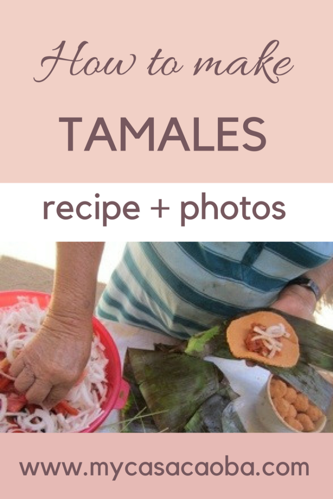 Step by step instructions and recipe to make tamales! Photos | Recipe | Homemade | Corn Husk | Banana leaf | tamales Read more!!!