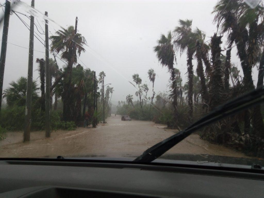 Rainy season in Todos Santos Baja