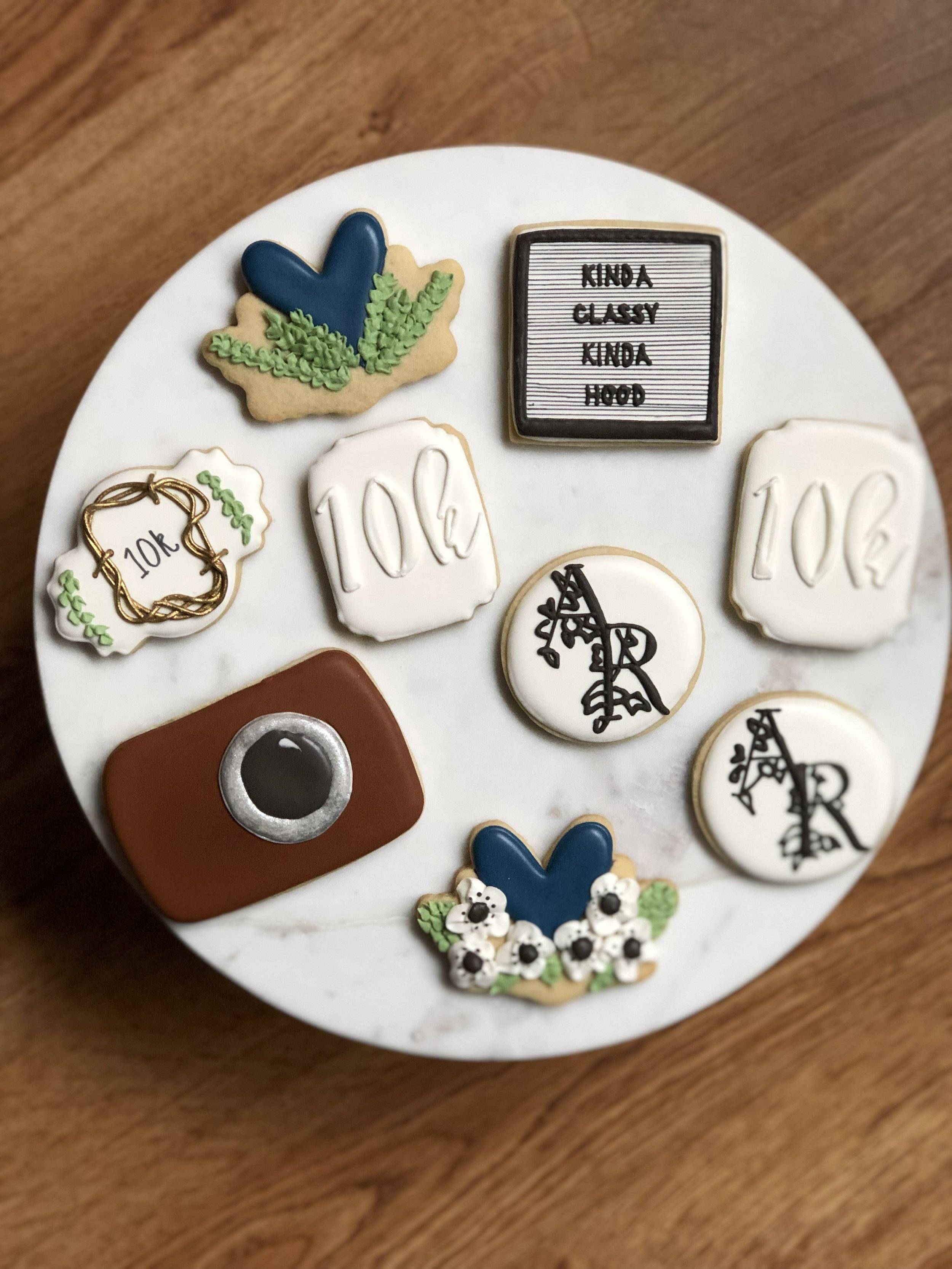 Baker Babe Cookie Co, Boss Babe Cookie Package, Boss Babe, Logo Design Cookies, Metro Detroit Baker, Decorated Sugar Cookies, Detroit Sugar Cookies, Metro Detroit Sugar Cookies, Kinda Classy, Kinda Hood.