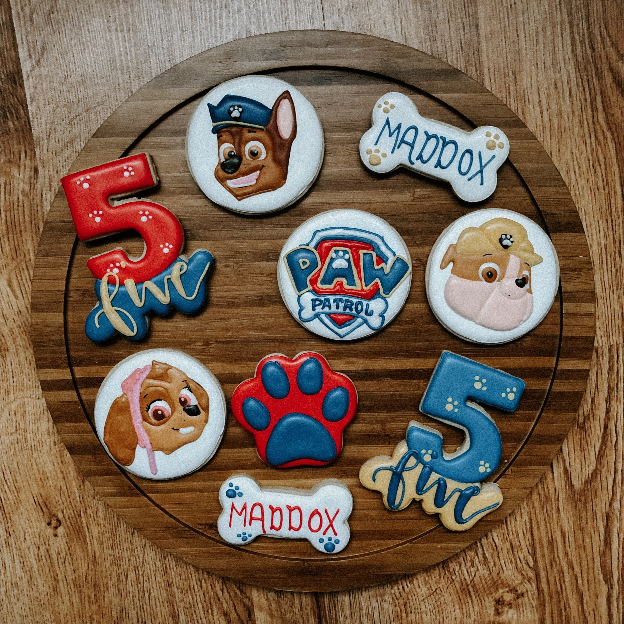 Boss Babae-Paw Patrol sugar cookies.JPG