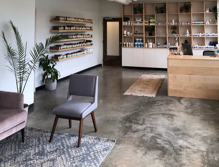 FIND Us Inside OUR SHAREDoffice withinTN Alternative Medicine - 1) have a seat in our light & airy waiting area; we'll come greet you at your appointment time
