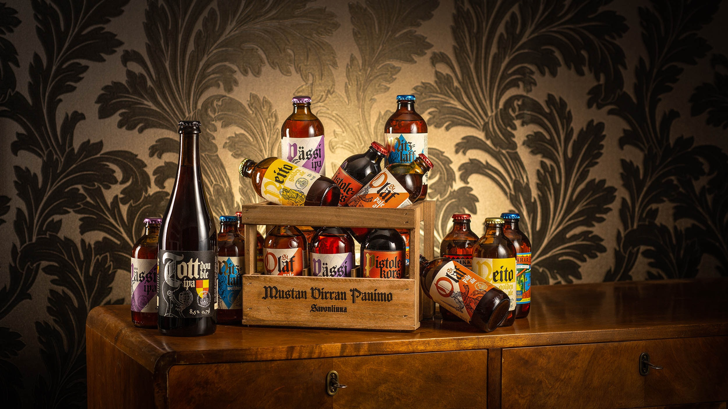 Mustan Virran Panimo - The event is co-organized and hosted by one of the fastest growing finnish craft breweries, Mustan Virran Panimo.