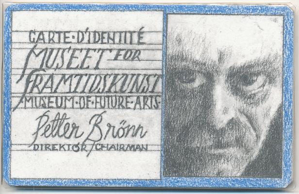 Museet for Framtidskunst //  Petter Brønn  // Grafitt på papir