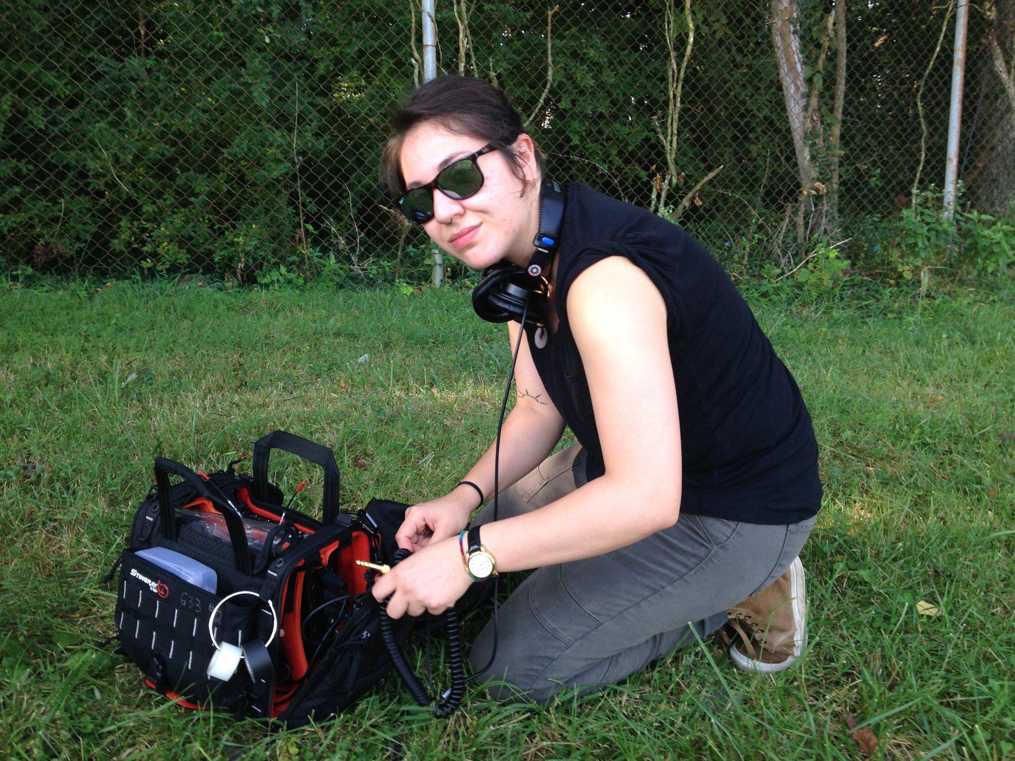 Katie Campos   Location Sound Engineer