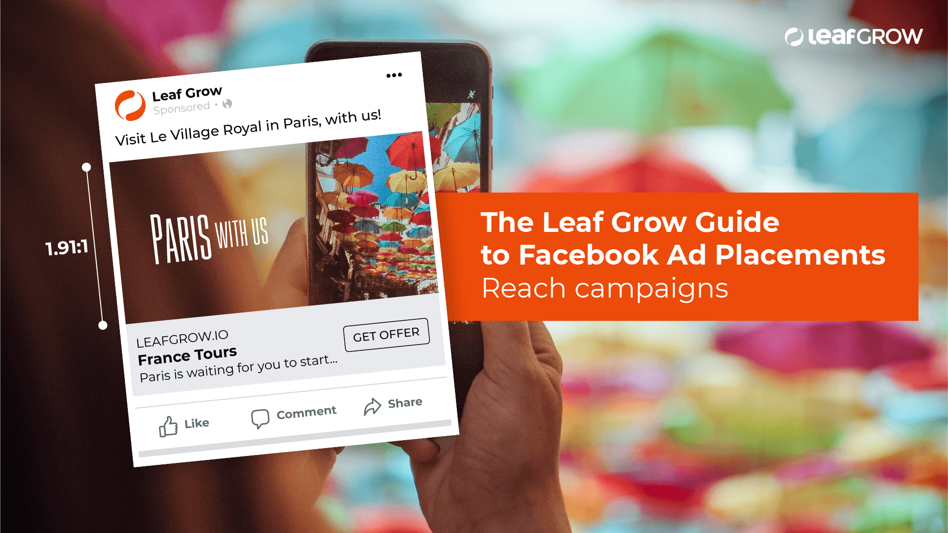 The Leaf Grow Guide to Facebook Ad Placements: Reach campaigns -