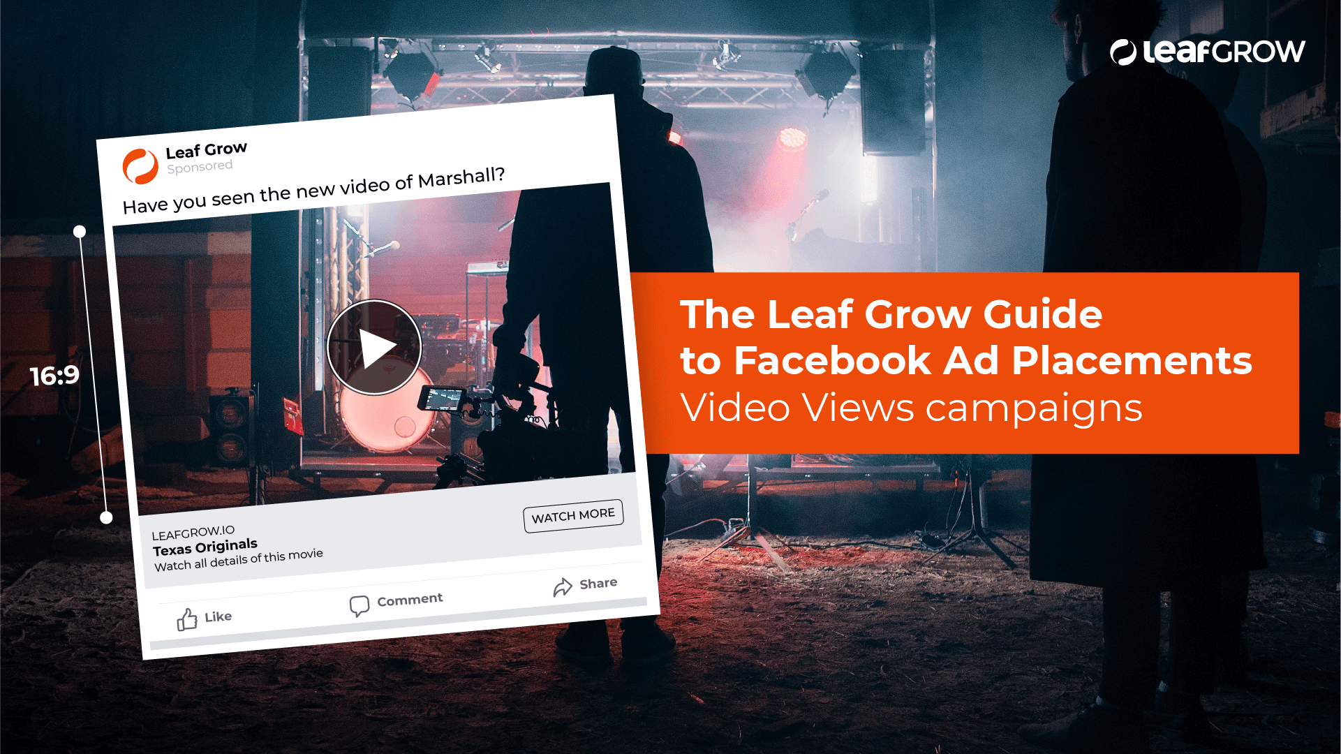 The Leaf Grow Guide to Facebook Ad Placements: Video Views campaigns -