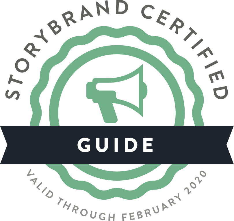 David Oaks - Vector - StoryBrand Guide Badge.png