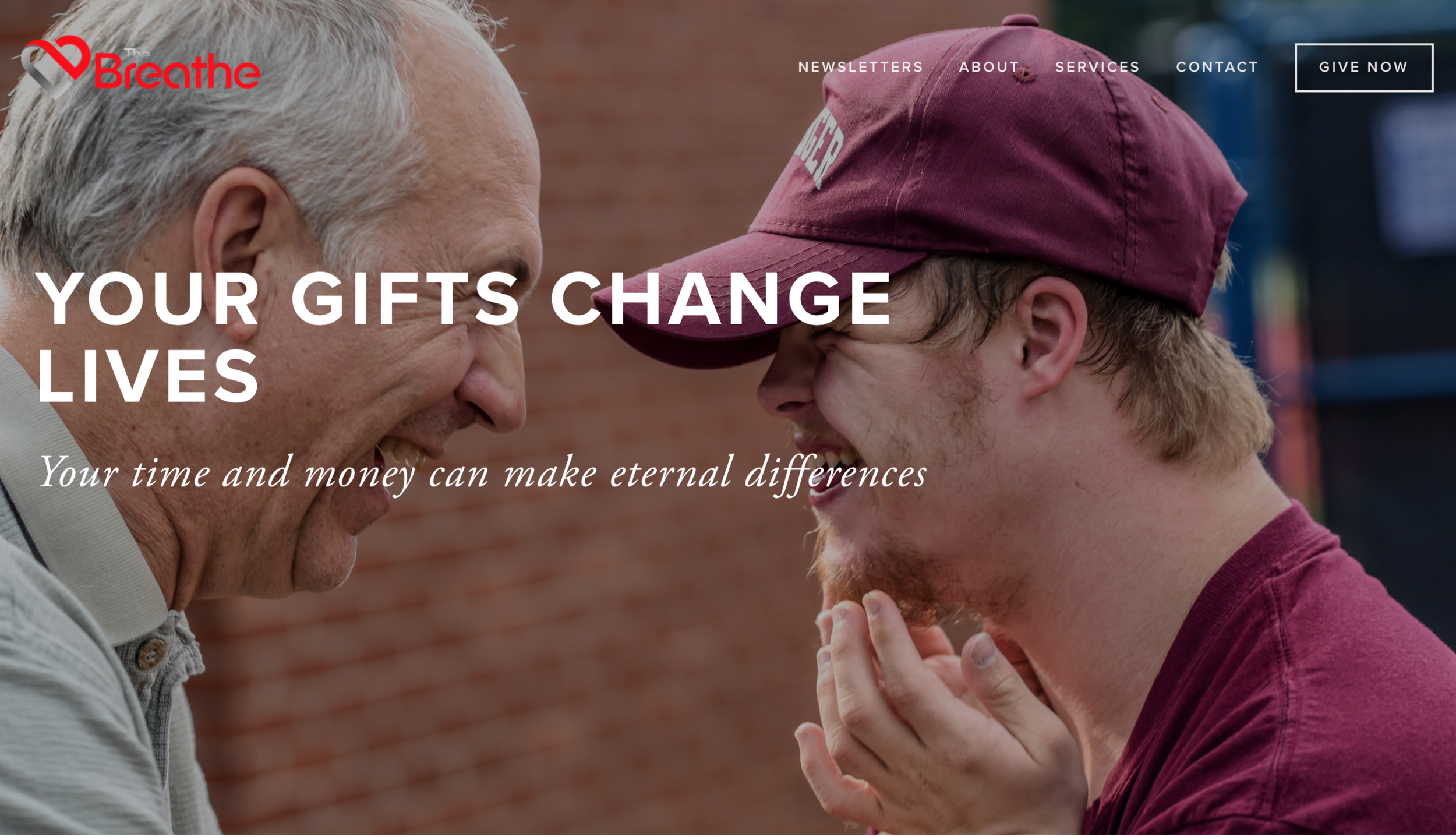 For nonprofits, the giving page is ALL IMPORTANT. Donors must be motivated to give and have a clear path to make a gift.