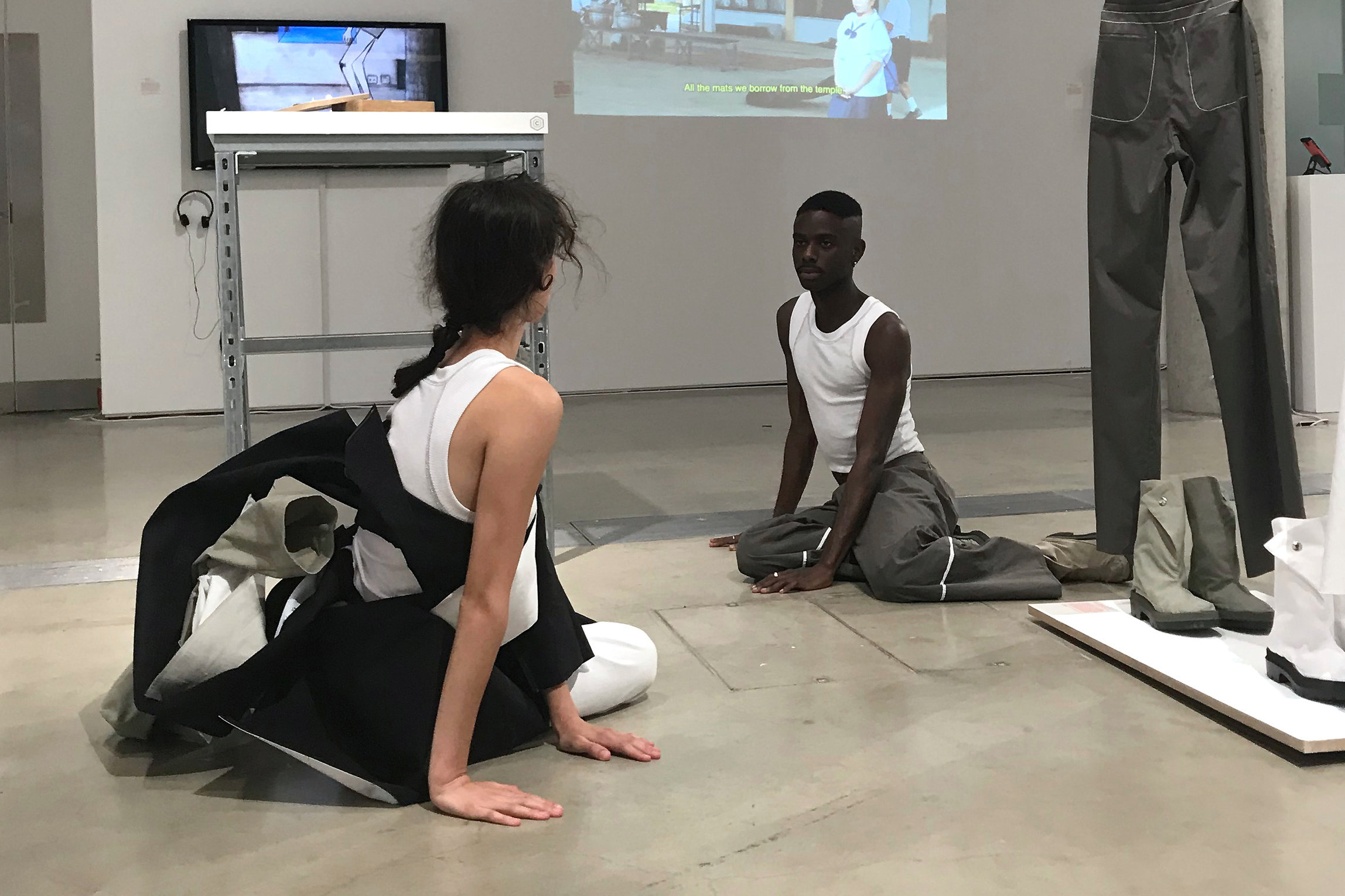 Performance 'Connection, Empathy, Play' at the Lethaby Gallery  2018