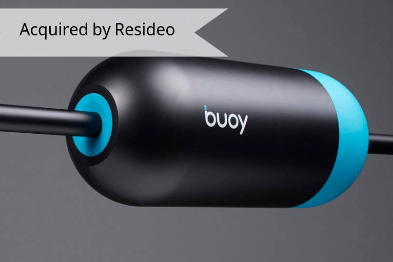 Buoy Labs - Smart home Internet of Things [IoT] company with a focus on household water usage and response.Acquired By ResideoBuoy.ai