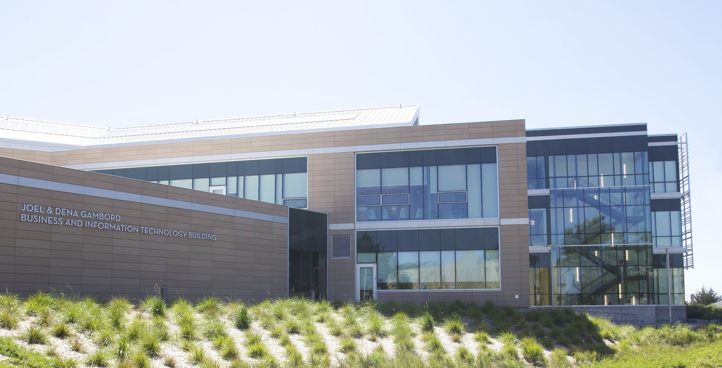 The Joel and Dena Gambord Business and Information Technology Building at Cal State Monterey Bay