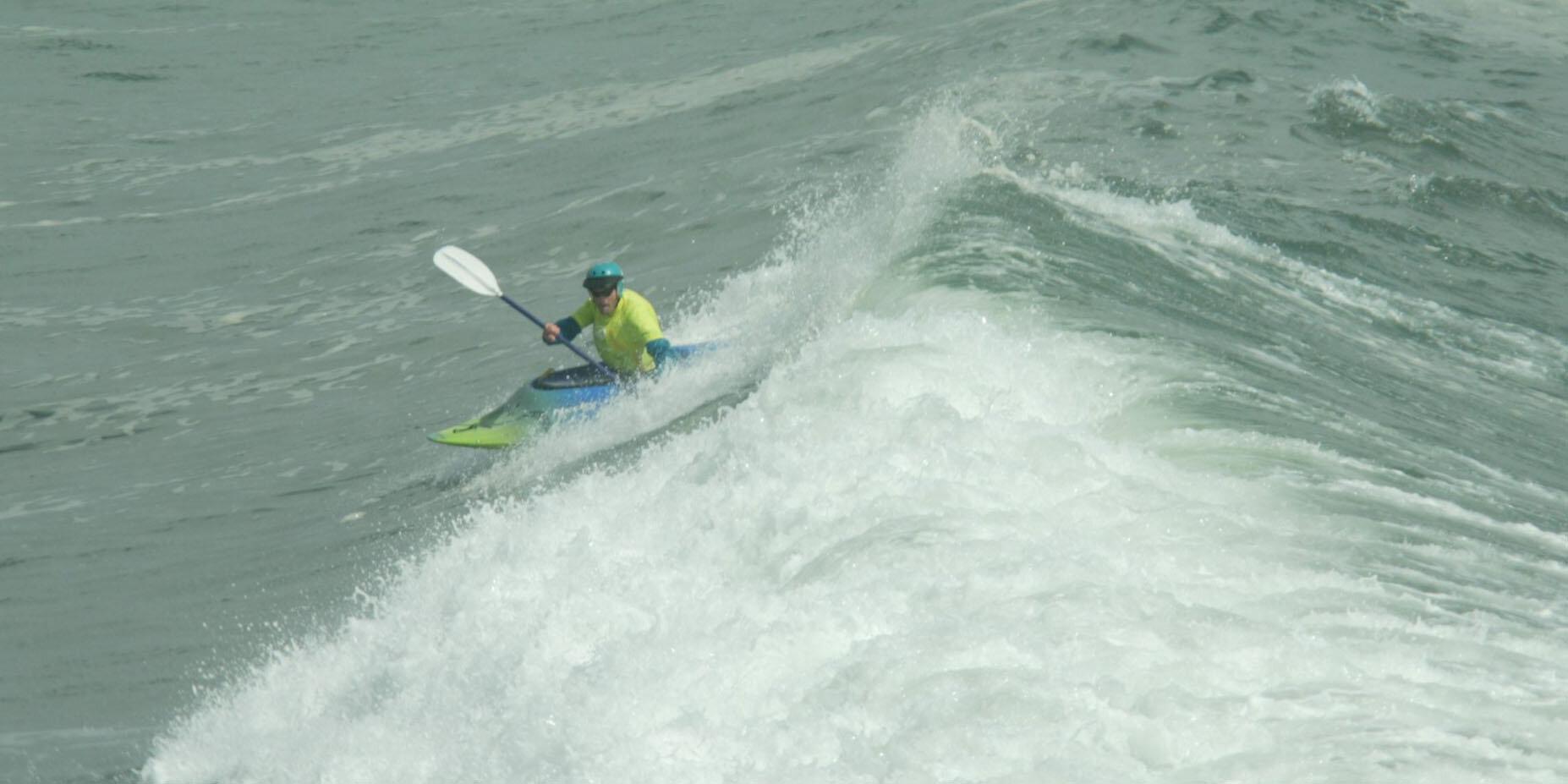 Former whitewater rafting guide Drew Meyer still loves white water.